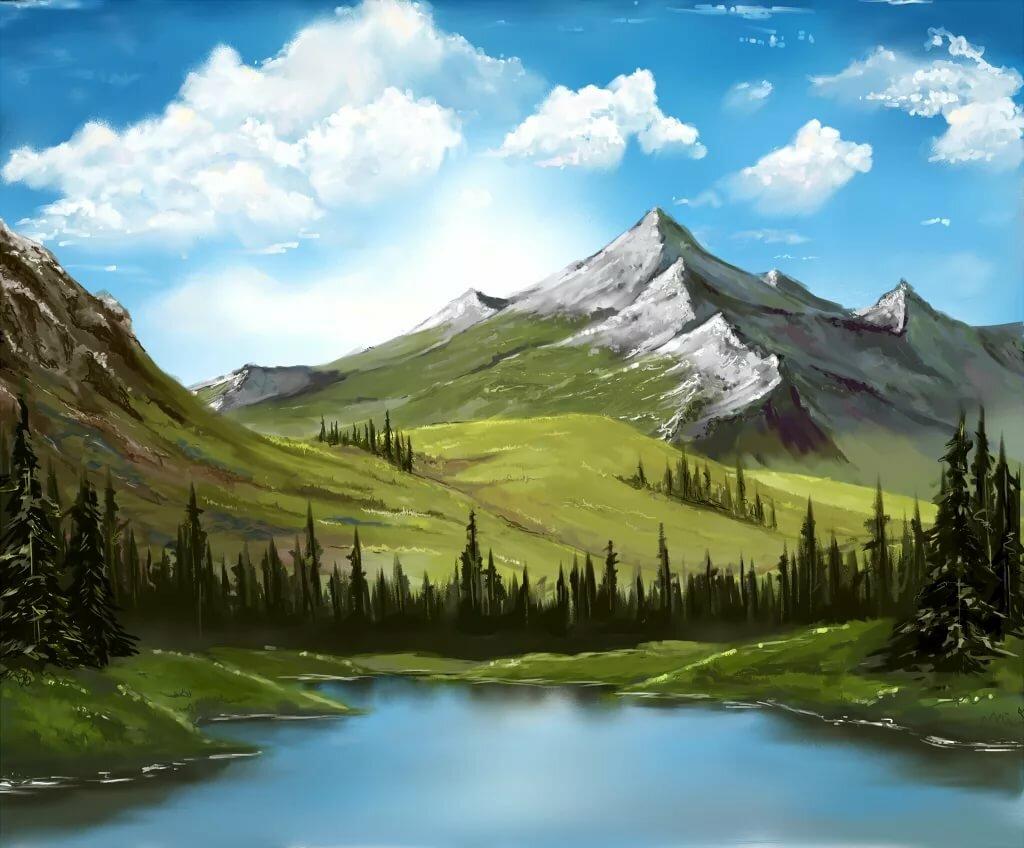 Картинка по горам по долам