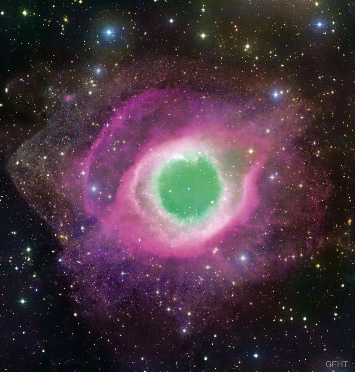 helix nebula ngc 7293 - HD1200×1258