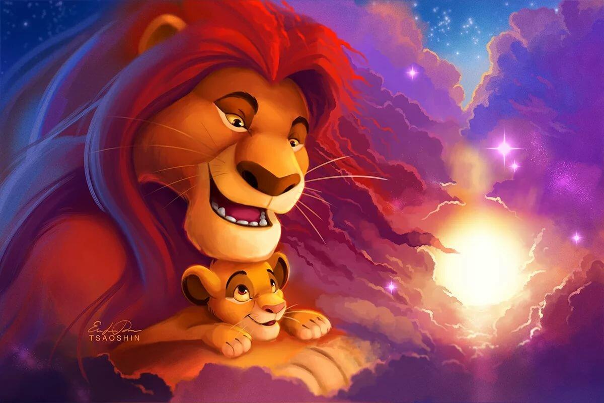 Дисней король лев картинки