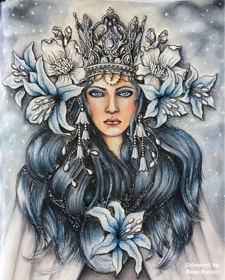 Картинки нарисованные королевы