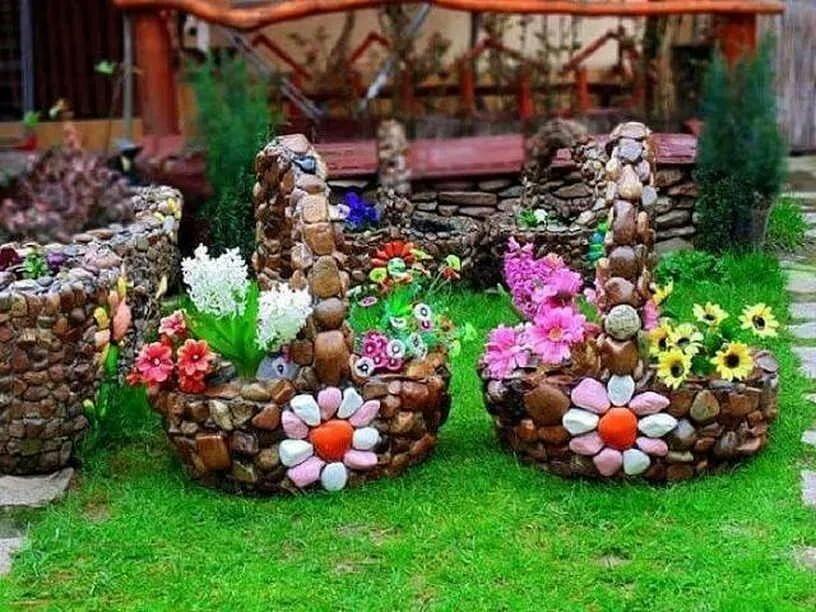 них украсить садовый участок картинки жизни пользуемся разными