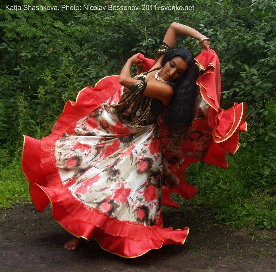 Картинки цыганка в танце, удачи всех