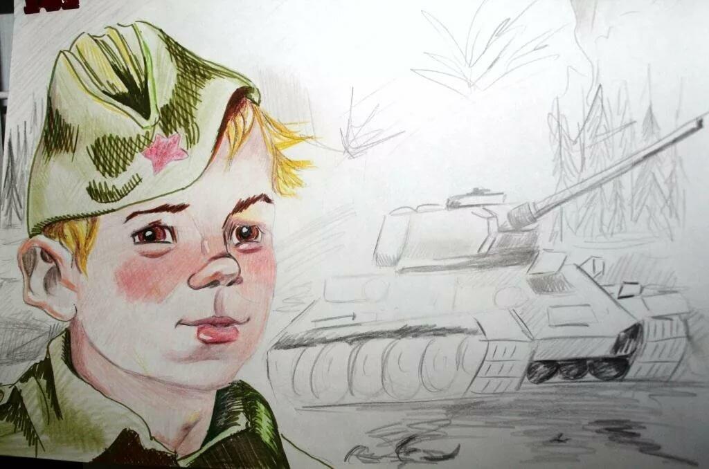 Дети военные картинки рисунки, открытки для врачей