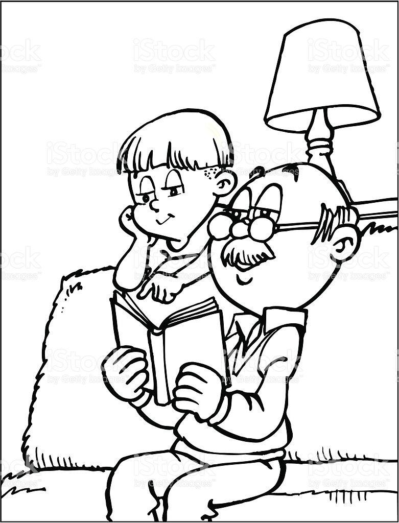 эти дедушка и внук рисунок карандашом барнаула