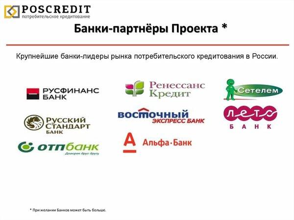 банки дающие кредит с любой историей