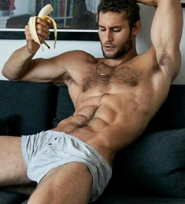 Horny nude sexy boy