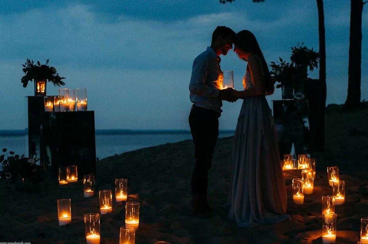 Вечер при свечах на двоих картинки