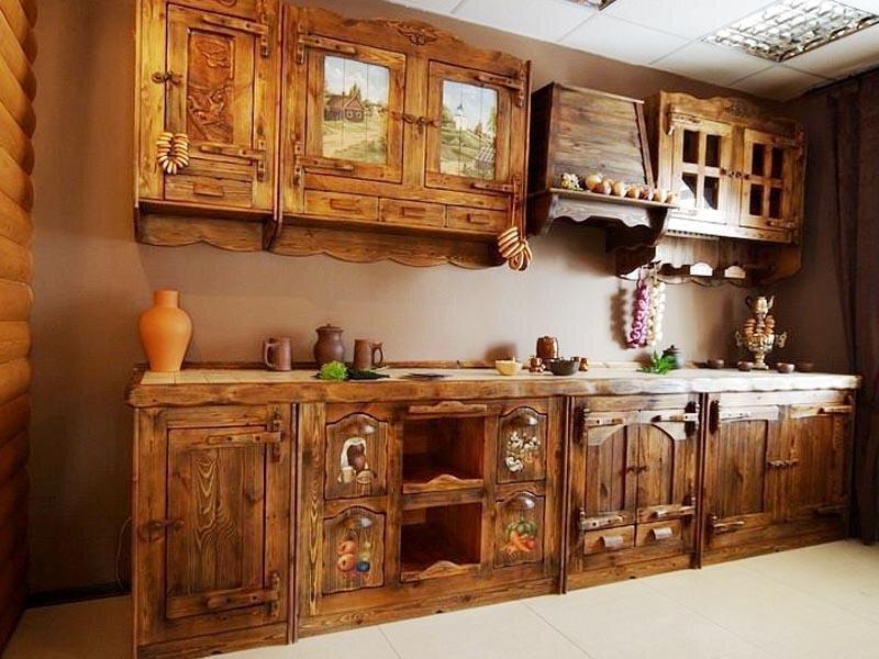мебель для кухни из дерева фото активно снимается площадках