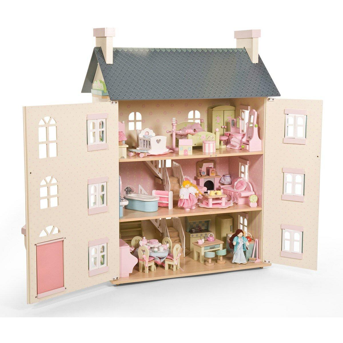 Картинки куклы с домиками