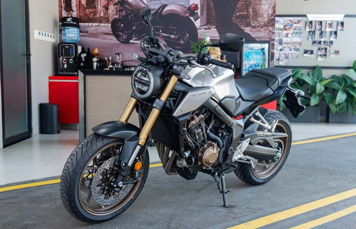 Details Honda CB650R 2019