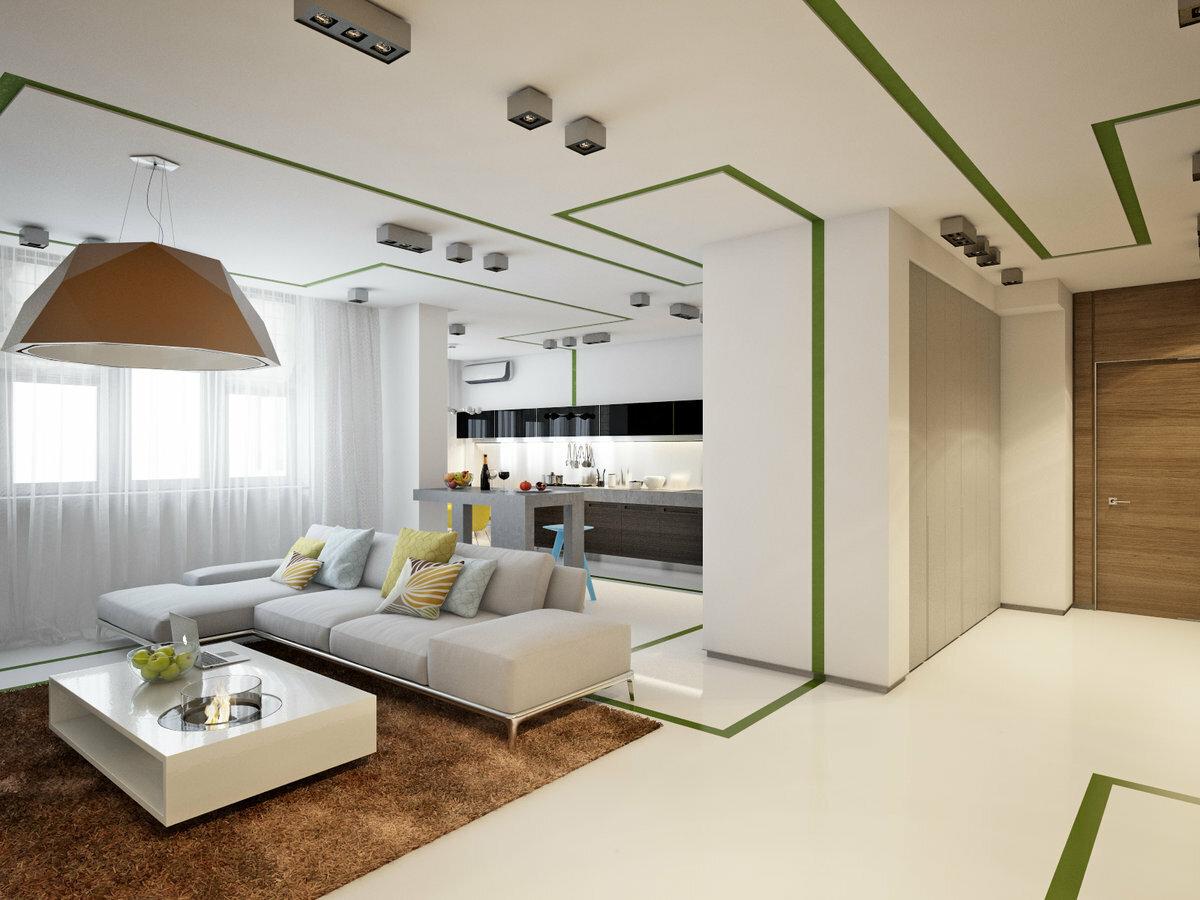 элитный дизайн квартиры в Воронеже