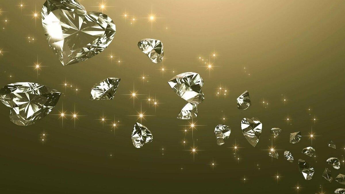 Красивые открытки с бриллиантами, картинки лениным