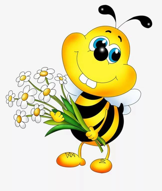 Пчела картинки смешные
