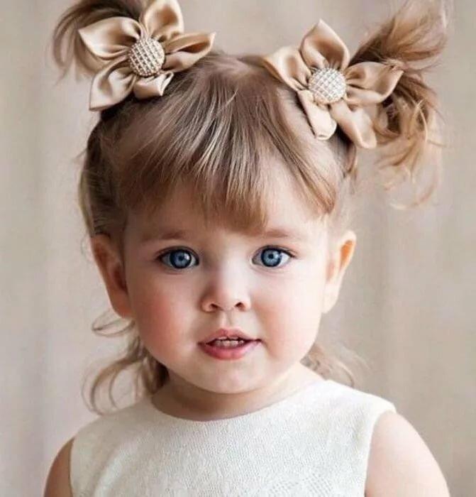 Красивые фото маленьких девочек, новый