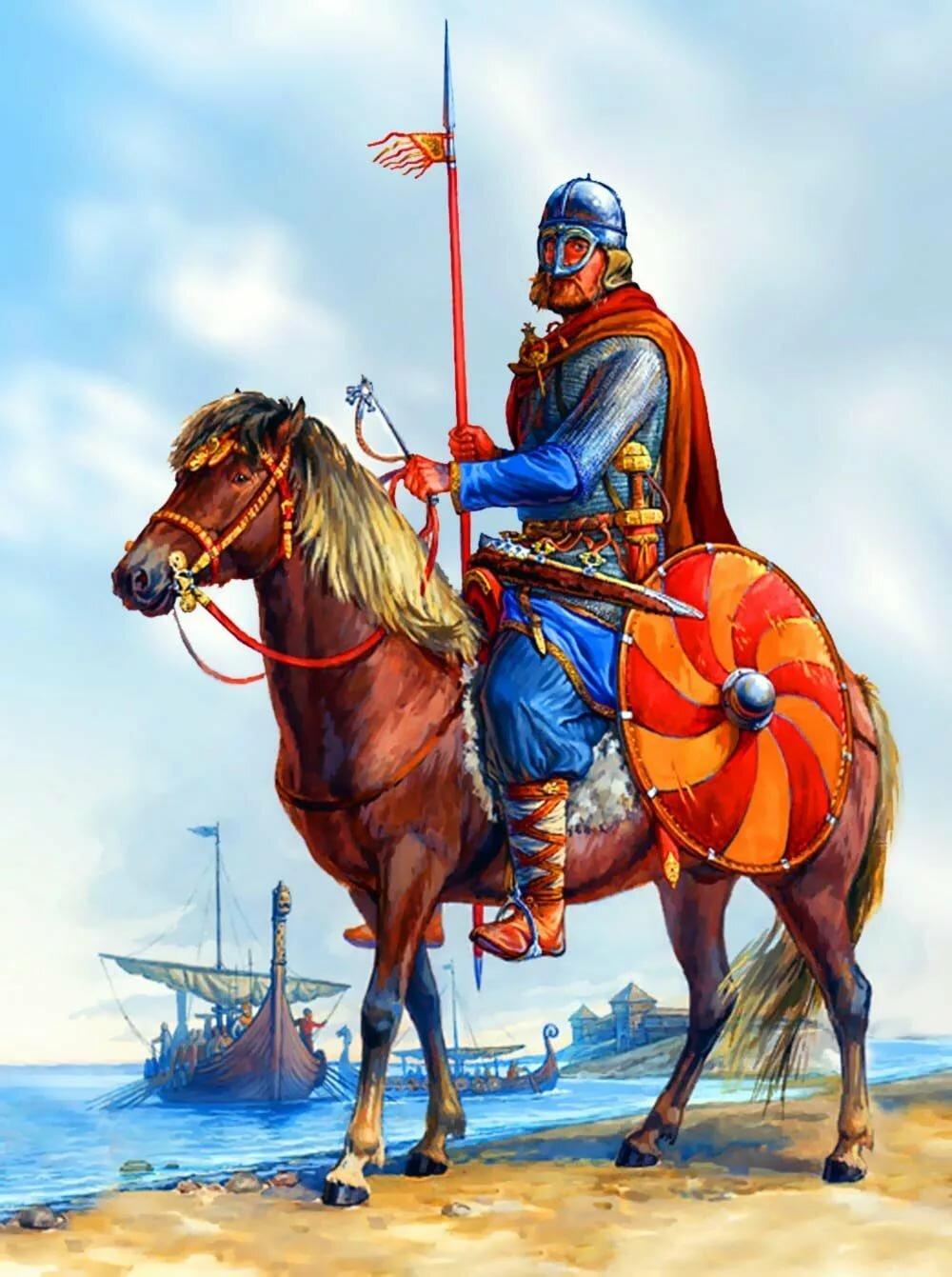 стиль картинки русский воин средневековья отпустит