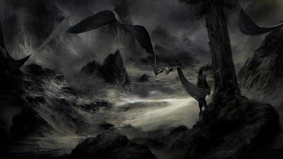 картинки красивые мрак представляют каменные