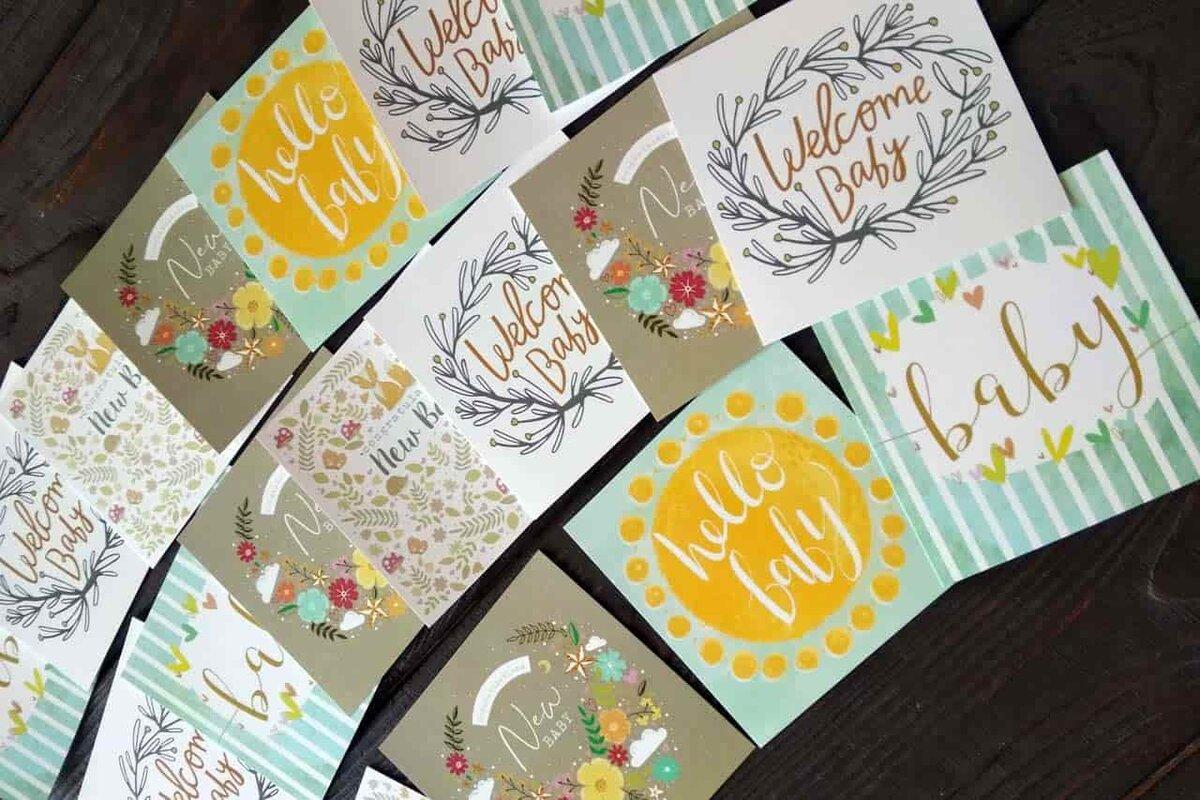 печать ваших открыток дома могут