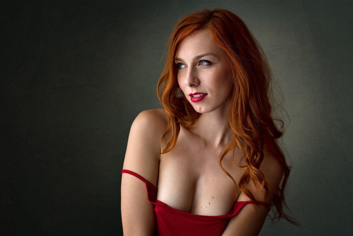 Beautiful naked red headed women — photo 5