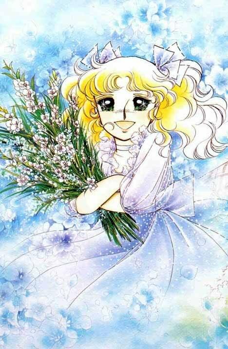 Клипарты, самая красивая аниме открытка с 8 марта