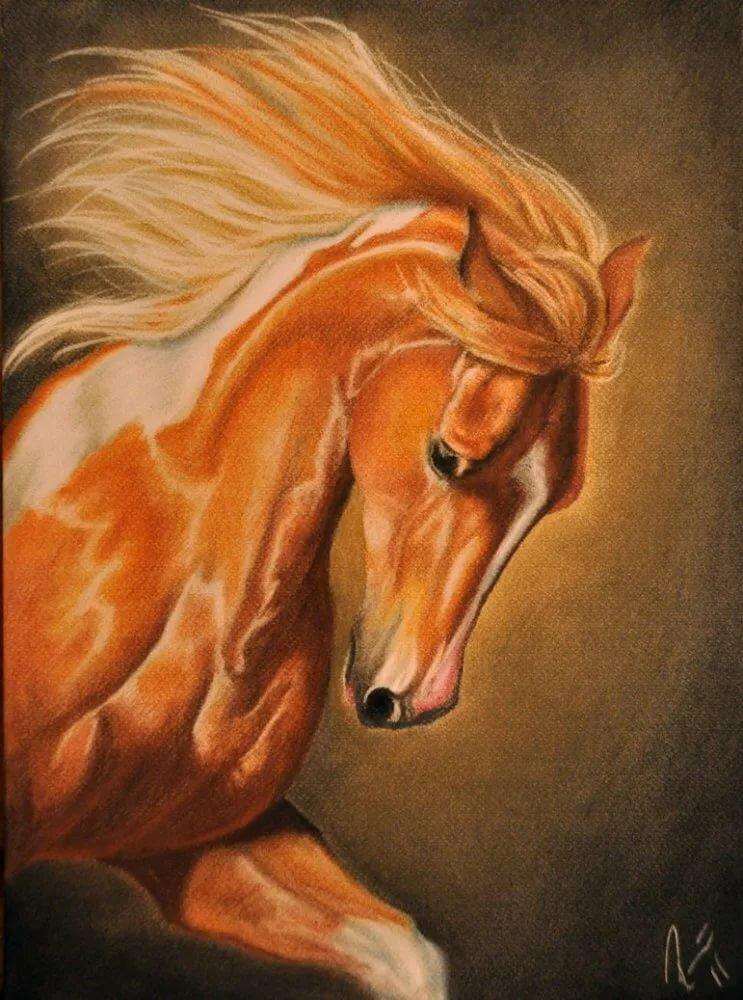 картинки златогривые кони так громко