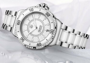 62a05146 Купить часы женские Chanel керамика со стразами в Москве недорого, низкие  цены в интернет-