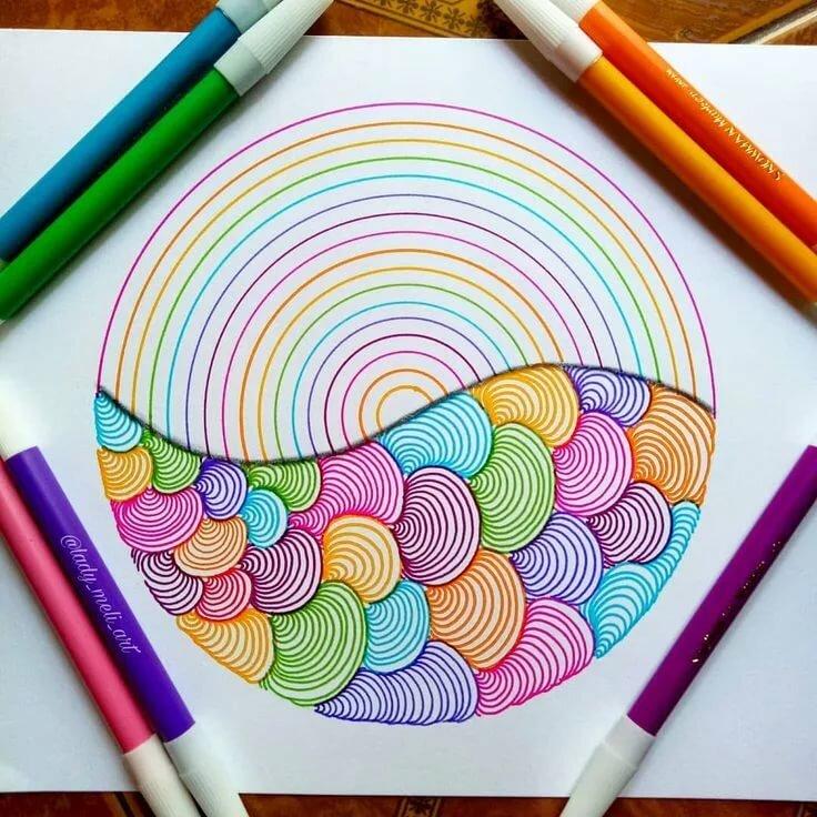Картинки нарисованными фломастерами