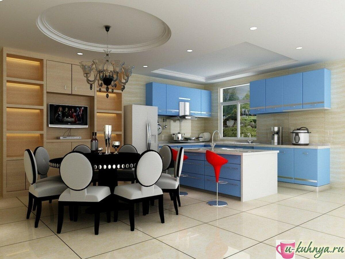 кухня с столовой вместе фото камер, карцеров