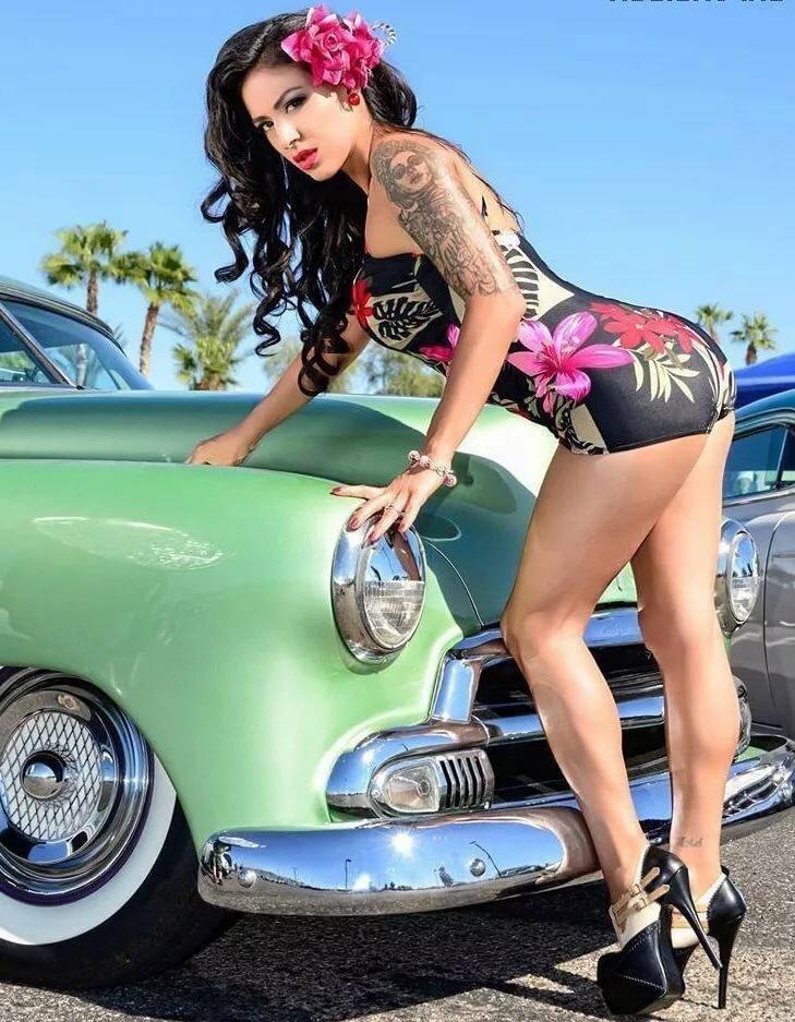 Hot rockabilly pin up nudes
