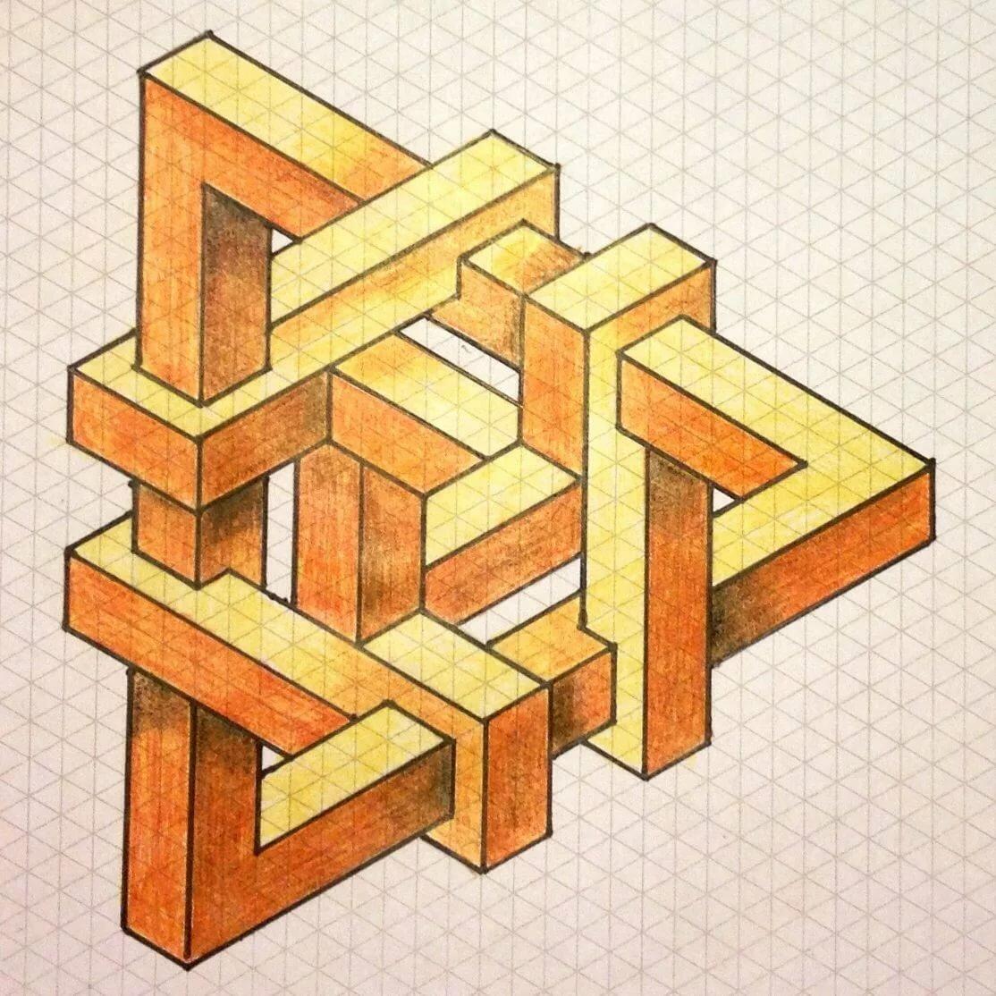 несуществующие геометрические фигуры картинки фотограф