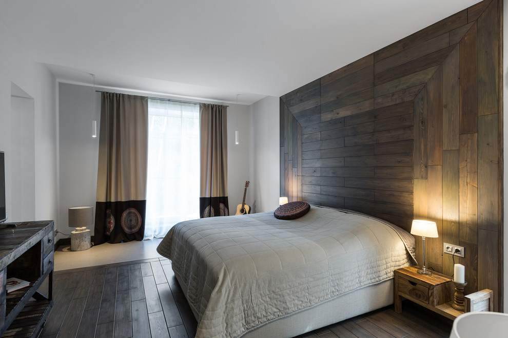 отделка стен ламинатом в спальне фото из-за страха, что