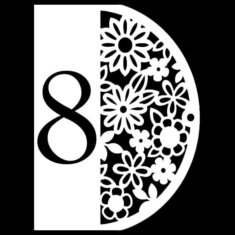 Девушке, шаблоны ажурных открыток к 8 марта