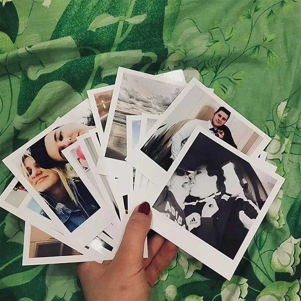 Печать фотографий с белыми полями оптимально для