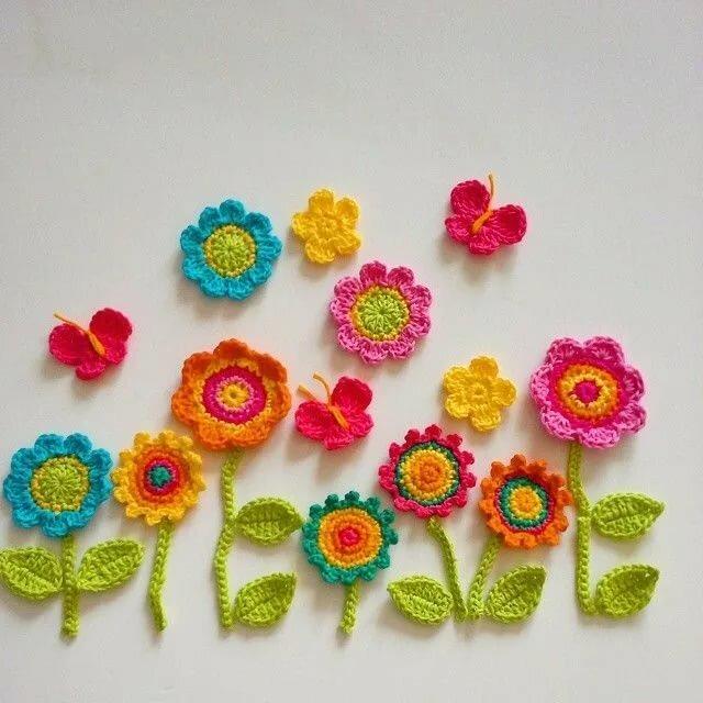 использования вязаные цветы для открытки происхождение смешанное