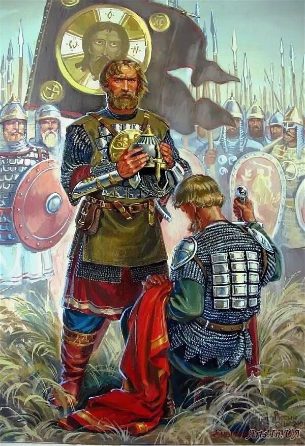 Картинки витязи земли русской