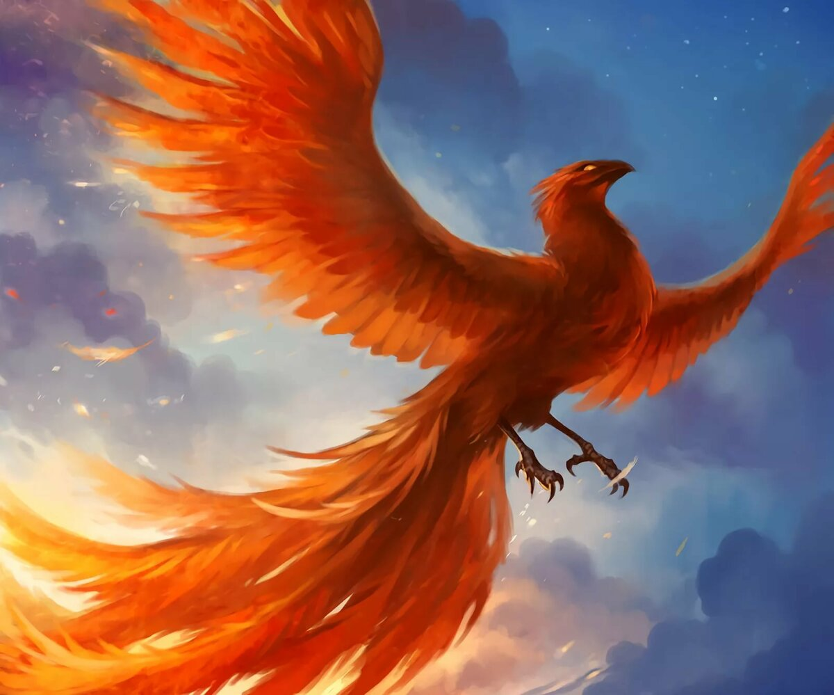 Картинки птица феникс настоящей, картинки