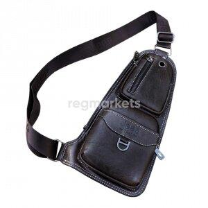 6990460cf6dc Мужская сумка Alligator. Купить за 11 тг. Мужская сумка-рюкзак через ...