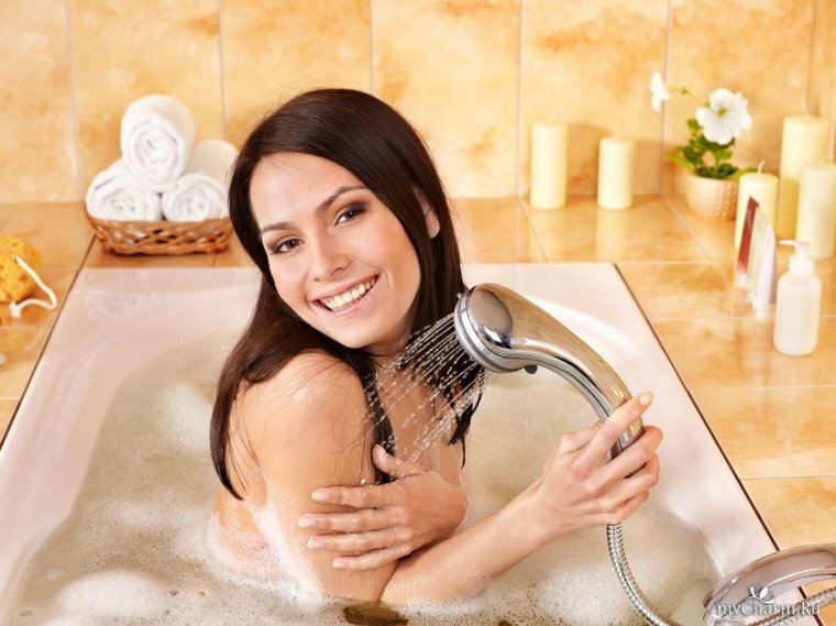 как правильно мыться в ванне женщинам видео - 2