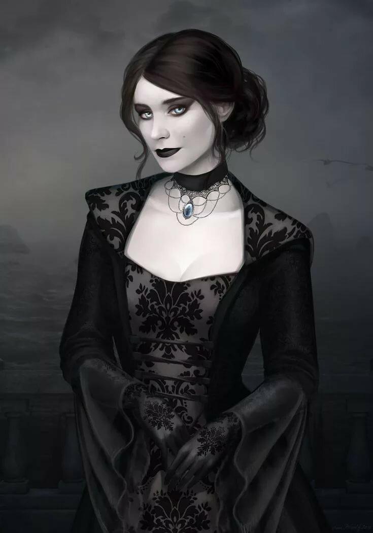 Картинки вампирши фэнтези