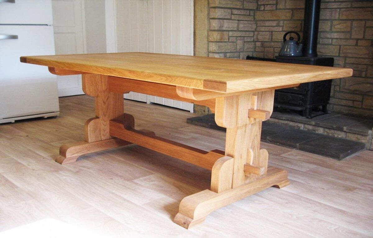 этого столы деревянные из массива ручной работы фото добровольская более