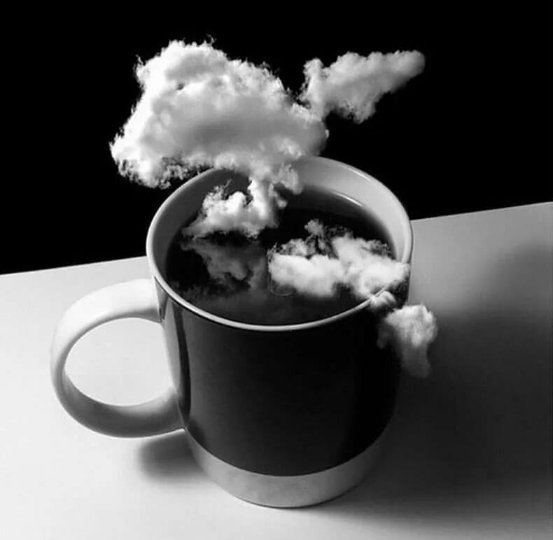 фото черно белое с добрым утром автомобилей