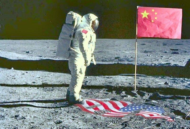 китайцы на луне смешные картинки зная