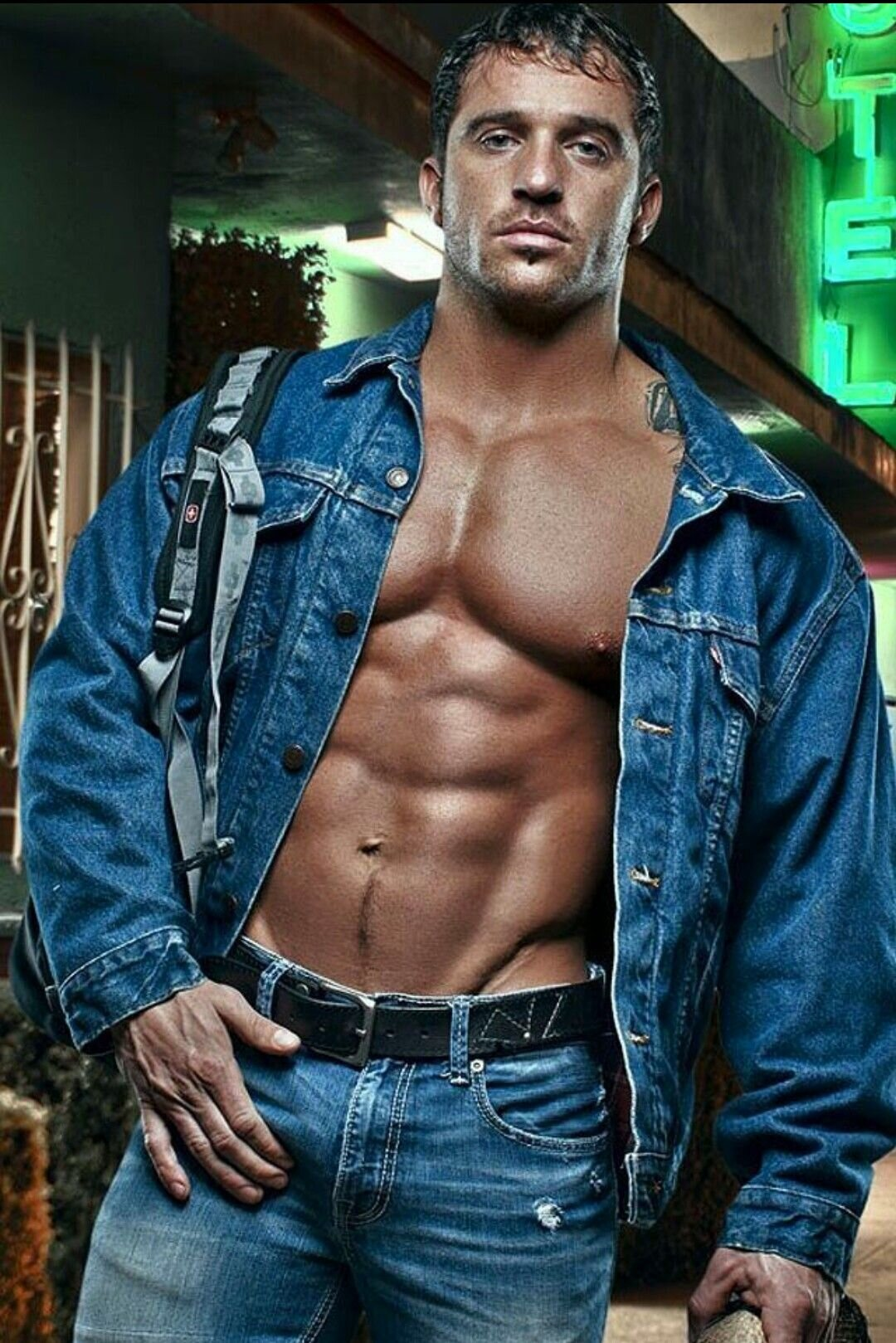 Sexy guy jeans, niquer petite cul