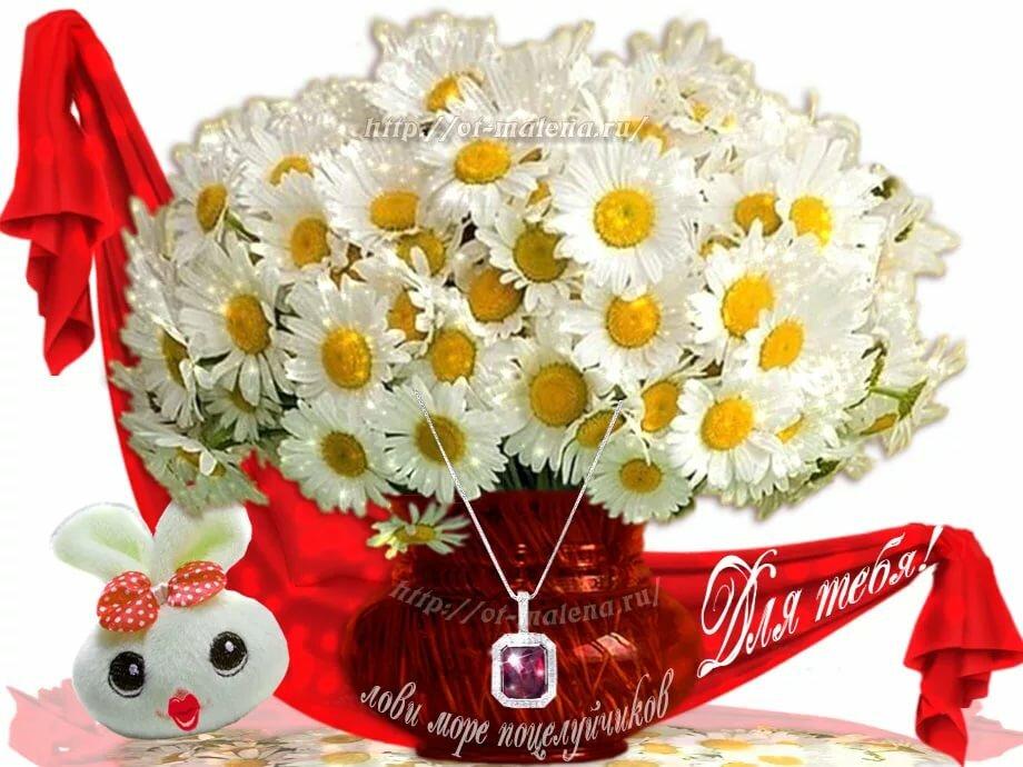 Дня юриста, гифки букет роз и ромашек для любимой