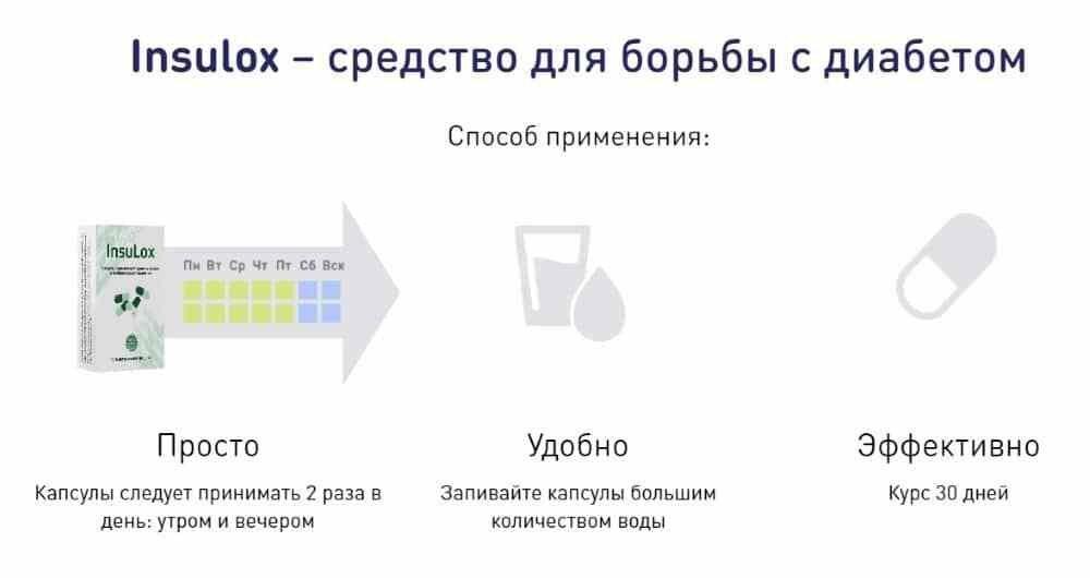 Insulox от диабета в Нефтеюганске