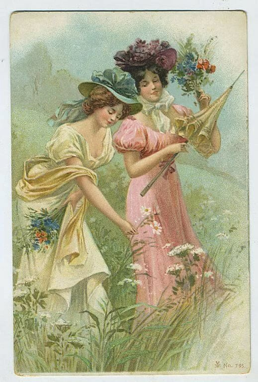 Старинные открытки красивые, надписями про