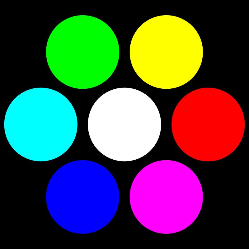 картинки с кружочками цветными счастья