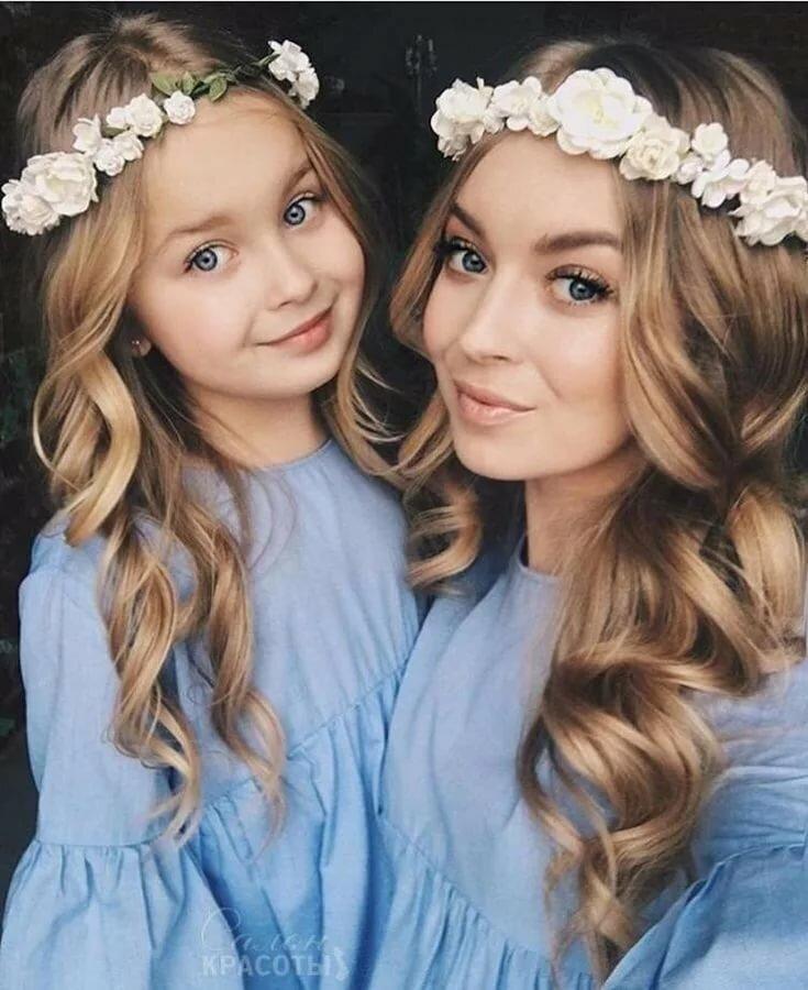 Картинки мама и дочки красивые
