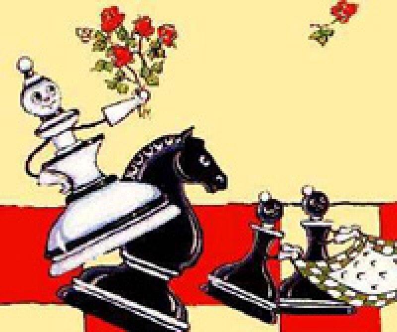 Поздравление, открытки с днем рождения шахматы