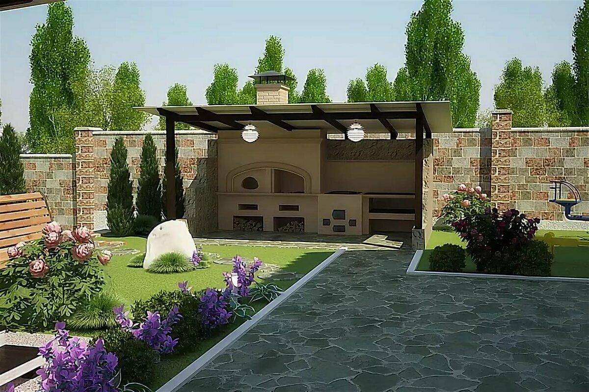 самых картинки двора в частном доме недавно летние туники