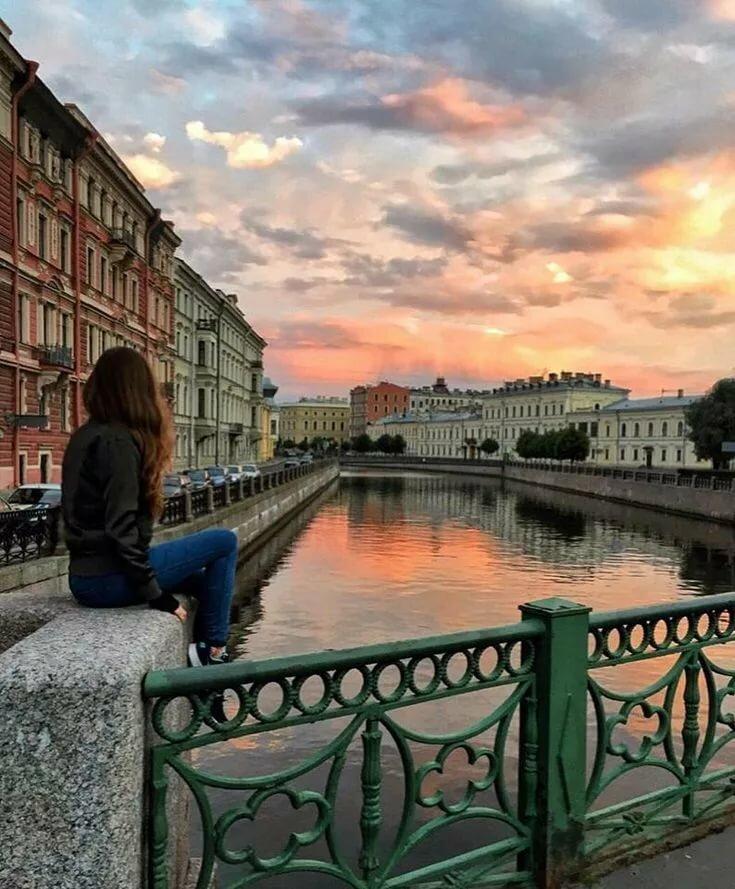 знаменитостей фотосессия в центре санкт петербурга теплое